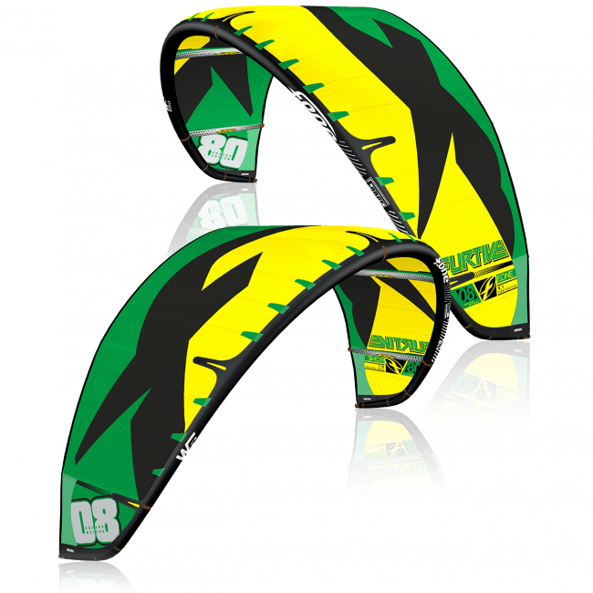 FURTIVE V1 GREEN AND YELLOW